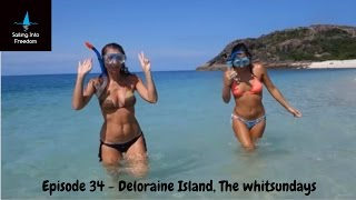 Download Sailing into Freedom Episode 34 Plukky & the Italian girls in Deloraine Island Video