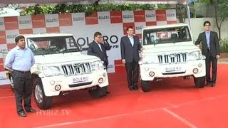 Download Mahindra Launches Stylish New Bolero Pick Up Flat Bed Video