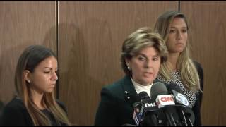 Download Gloria Allred Speaks on Behalf Darren Sharper Victims Video