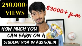 Download How much you can earn as Student in Australia (3000+$ a month) Video