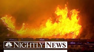 Download More Than 80,000 Forced to Evacuate as Wildfires Sweep California | NBC Nightly News Video