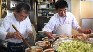 Download Japan Street Food Ramen - Japanese Ramen Restaurant at Tsukiji Market Video