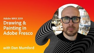 Download Drawing & Painting in Adobe Fresco with Dan Mumford | Adobe MAX 2019 Video