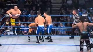 Download Impact Wrestling 13 2 2014 Samoa Joe & Wolves vs Zema Ion & BroMans Video