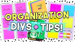 Download Organization Tips + DIYs for Everyone! Video