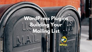 Download WPblab EP97 - WordPress Plugins - Building Your Mailing List Video