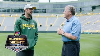 Download Aaron Rodgers on embracing his spot in Packers' history I NFL I NBC Sports Video