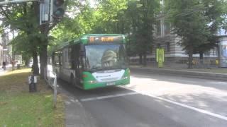 Download Buses in Tallinn, Estonia Video