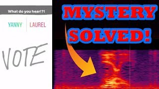 Download We Solved the Yanny or Laurel Question ... USING SCIENCE! Video
