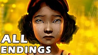 Download The Walking Dead Season 2 Episode 5 ALL ENDINGS CHOICES - Full No Going Back Video