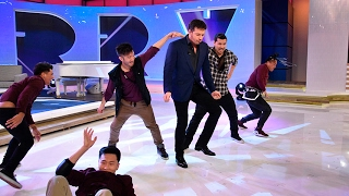 Download The Quest Crew Teaches Harry To Dance Video