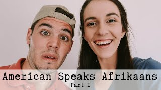 Download AMERICAN BOYFRIEND TRIES SPEAKING AFRIKAANS (PART 1) Video