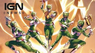 Download New Power Ranger Revealed in Comics - IGN News Video