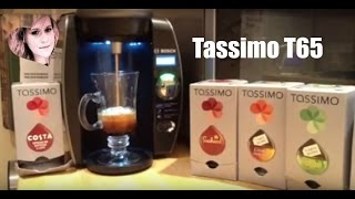 Download Tassimo T65 Coffee Machine Review - How to Use - Great Tasting Coffee / Cappuccino Video