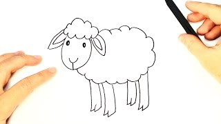 Download How to draw a Sheep for Kids   Sheep Easy Draw Tutorial Video