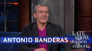 Download Antonio Banderas Can Play Picasso, But Can He Draw Like Him? Video