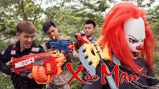 Download GUGU Nerf War : Police Patrol CID Dragon Nerf Guns Fight Criminal Group XICMAN Arms Trade Video