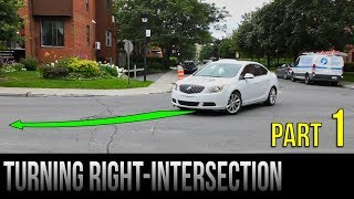 Download How To Turn Right At An Intersection - Part 1 Video