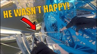 Download INSANE TRANSPORTER BRIDGE CLIMB *BUSTED* Video