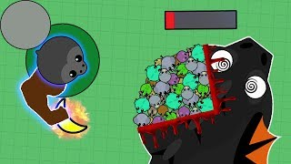 Download NEW BEST TROLLING ANIMAL! ANGRY FORGOTTEN GORILLA DESTROYING ALL DRAGONS IN MOPE.IO! (Mope.io) Video