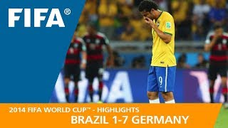 Download BRAZIL v GERMANY (1:7) - 2014 FIFA World Cup™ Video