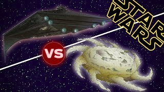 Download Eclipse Super Star Destroyer vs Yuuzhan Vong Worldship | Star Wars: Who Would Win Video