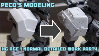 Download HG GUNDAM AGE 1 NORMAL Detailed Work PART4 (ガンプラ ディテールアップ製作動画) Video