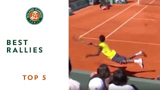 Download Top 5 Best Rallies - Roland-Garros Video