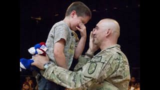 Download SOLDIERS COMING HOME | Most Emotional Surprise Compilation at Basketball Game | RESPECT Video