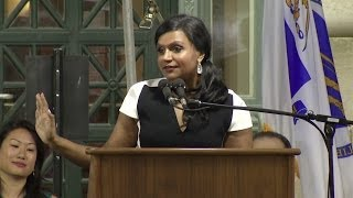 Download Mindy Kaling's Speech at Harvard Law School Class Day 2014 Video