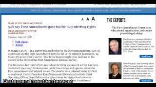 Download Understanding the ″Freedom of Speech″ in the United States Video