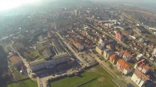 Download Stadion Lagator iz vazduha FK Loznica Video