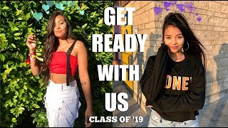 Download First Day Of School Get Ready With Me | Senior Year | Montoya Twinz Video