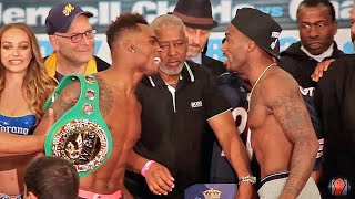 Download BOTH SIDES GO AT IT! HEATED Jermell Charlo vs. Charles Hatley Full Weigh in & Face Off Video Video
