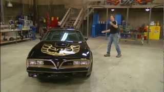 Download Stacy David drives 1977 Bandit Pontiac Trans Am Burt Reynolds Ed. on GearZ (HD) Video