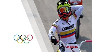 Download Mariana Pajon (COL) Wins Women's BMX Cycling Gold -Full Race - London 2012 Olympics Video