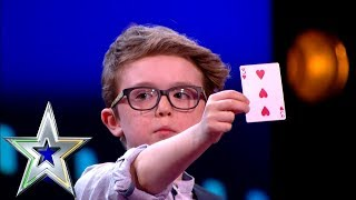 Download 9 year old Magician Aidan wins over the judges! | Ireland's Got Talent Video