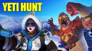 Download Trapping The Yeti! NEW Overwatch Game Mode! Video