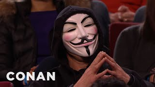 Download Conan Has Angered ″Anonymous″ - CONAN on TBS Video