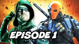 Download Arrow Season 6 Episode 1 - TOP 10 WTF and Comics Easter Eggs Video