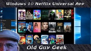 Download Windows 10 - Netflix New Universal App Video
