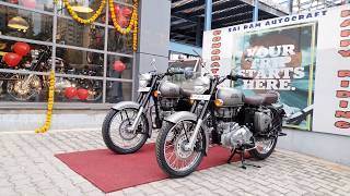 Download Taking Delivery of 3 Royal Enfield Classic Gunmetal Grey | Walkaround in 4K 60FPS Video