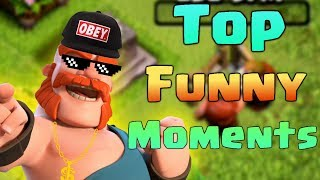 Download TOP COC Funny Moments, Glitches, Fails and Trolls Compilation | CLASh OF CLANS Funny Video Video