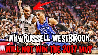Download Why Russell Westbrook WILL NOT Win the 2017 NBA MVP! Video