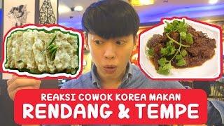 Download COWOK KOREA Pertama kali coba RENDANG dan TEMPE MENDOAN!! | Korea Vlog 3-1 | COWOK KOREA Video