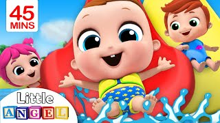 Download Playtime at the Waterpark | Playground Song | Little Angel Nursery Rhymes Video