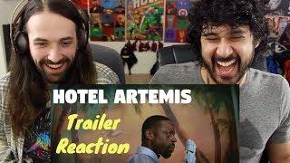 Download HOTEL ARTEMIS | Official TRAILER REACTION!!! Video