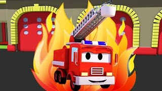 Download Frank The Fire Truck 🚒 and all his friends in Car City: Super Truck, Troy The Train & Police Car... Video