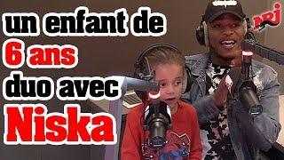 Download Niska fait un duo avec un enfant de 6 ans ! - Guillaume Radio sur NRJ Video