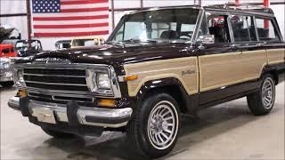Download 1990 Jeep Grand Wagoneer burg Video